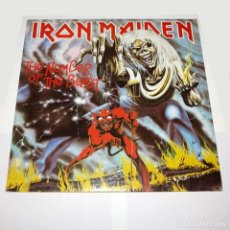 Discos de vinilo: LP. DISCO DE VINILO. IRON MAIDEN - THE NUMBER OF THE BEAST. 1982. HEAVY METAL.. Lote 89769896