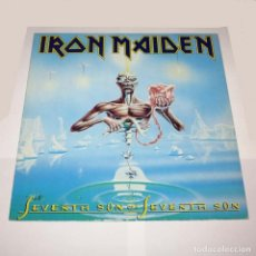 Discos de vinilo: LP. DISCO DE VINILO. IRON MAIDEN - SEVENTH SON OF A SEVENTH SON. 1988. Lote 89770684