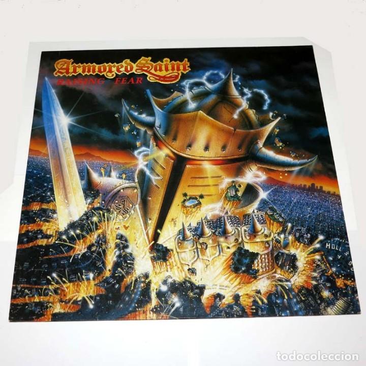 LP. DISCO DE VINILO. ARMORED SAINT - RAISING FEAR. 1987. HEAVY METAL (Música - Discos - LP Vinilo - Heavy - Metal)