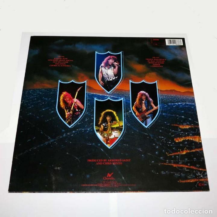 Discos de vinilo: LP. Disco de vinilo. Armored Saint - Raising Fear. 1987. Heavy Metal - Foto 2 - 89774328