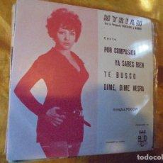 Discos de vinilo: MYRIAM CON LA ORQUESTA FANTASIA Y NARBO. POR COMPASION + 3. EP. PROMOCIONAL. BCD 1971.IMPECABL. Lote 89777228