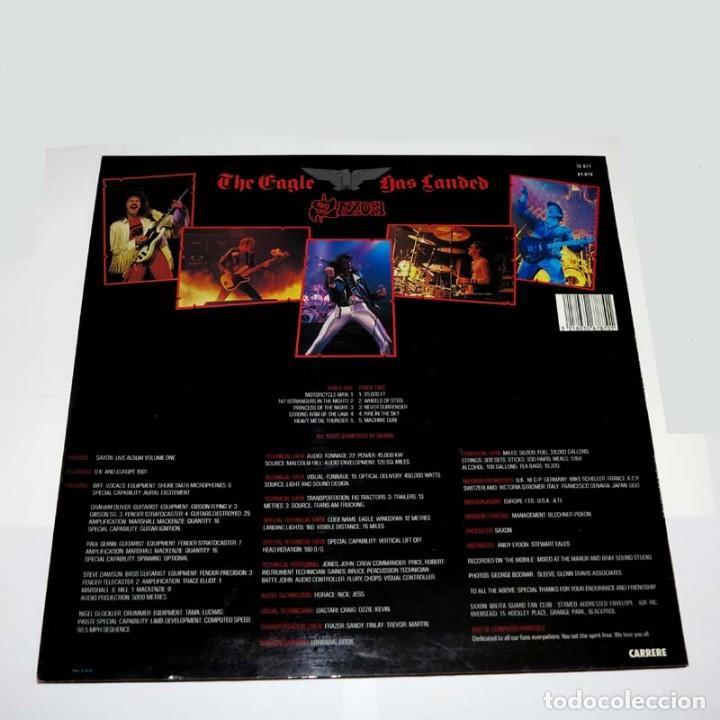 Discos de vinilo: LP. Disco de vinilo. Saxon - The Eagle Has Landed. 1982. Heavy Metal - Foto 2 - 89778508