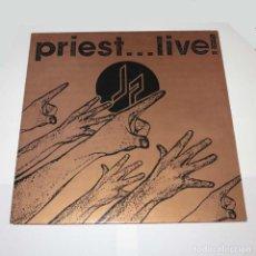 Discos de vinilo: DLP. DISCO DE VINILO. JUDAS PRIEST - LIVE. 1987. HEAVY METAL. Lote 89779928