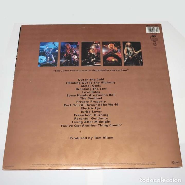Discos de vinilo: DLP. Disco de vinilo. Judas Priest - Live. 1987. Heavy Metal - Foto 2 - 89779928