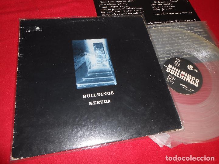 BUILDINGS NERUDA/UNTITLED 12 MX 1987 PRIVADO WAVE BARCELONA VINILO TRANSPARENTE (Música - Discos de Vinilo - Maxi Singles - Grupos Españoles de los 70 y 80)