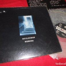 Discos de vinilo: BUILDINGS NERUDA/UNTITLED 12 MX 1987 PRIVADO WAVE BARCELONA VINILO TRANSPARENTE. Lote 89780268