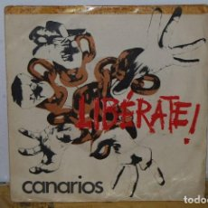 Discos de vinilo: SINGLE - CANARIOS - LIBERATE / I WONDER WHAT FREEDOM MEANS - BARCLAY SN 20403 - 1970. Lote 89780308