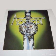 Discos de vinilo: LP. DISCO DE VINILO. ACCEPT - SAME. 1980. HEAVY METAL. Lote 89780320