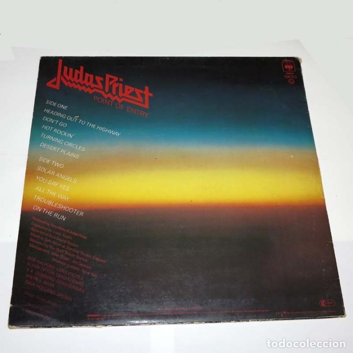 Discos de vinilo: LP. Disco de vinilo. Judas Priest - Point of Entry . Heavy Metal - Foto 2 - 89780748