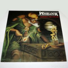 Discos de vinilo: LP. DISCO DE VINILO. WARLOCK - BURNING THE WITCHES. 1984. HEAVY METAL. Lote 89780920