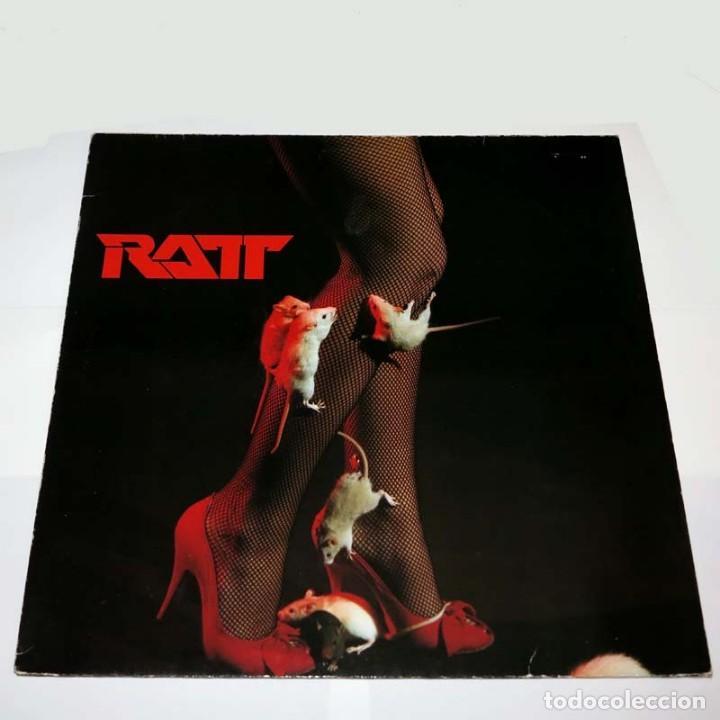 LP. DISCO DE VINILO. RATT - SAME. 1983. HEAVY METAL (Música - Discos - LP Vinilo - Heavy - Metal)