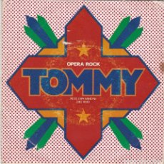 Discos de vinilo: SINGLE THE WHO. TOMMY, 1975. SPAIN. DISCO PROBADO Y BIEN. Lote 89796448