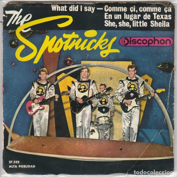 THE SPOTNICKS / WHAT DID I SAY + 3 (EP 1963) (Música - Discos de Vinilo - EPs - Pop - Rock Extranjero de los 50 y 60)