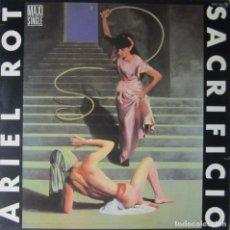 Discos de vinilo: ARIEL ROT: SACRIFICIO / DUERME EN PAZ. Lote 89815044