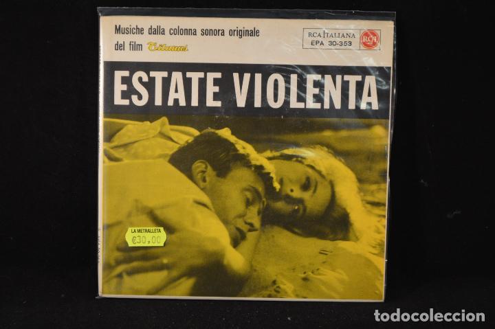TEDDY RENO – ESTATE VIOLENTA - EP (Música - Discos de Vinilo - EPs - Bandas Sonoras y Actores)