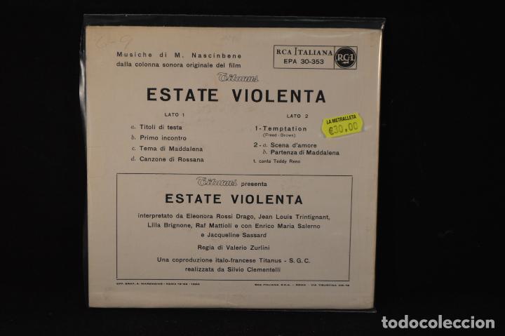 Discos de vinilo: Teddy Reno – Estate Violenta - EP - Foto 2 - 89829224