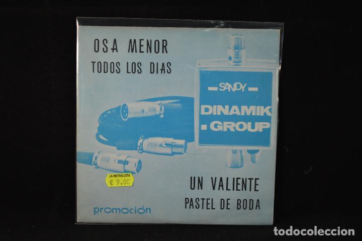 DINAMI'K GROUP – OSA MENOR + 3 - EP (Música - Discos de Vinilo - EPs - Grupos Españoles de los 70 y 80)