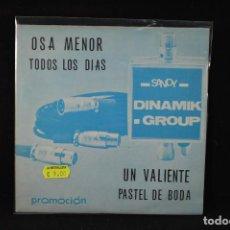 Discos de vinilo: DINAMI'K GROUP – OSA MENOR + 3 - EP. Lote 89830120