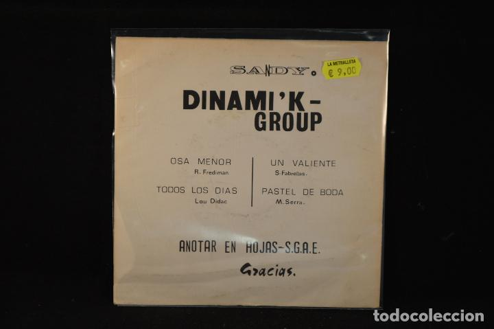 Discos de vinilo: Dinamik Group – Osa Menor + 3 - EP - Foto 2 - 89830120
