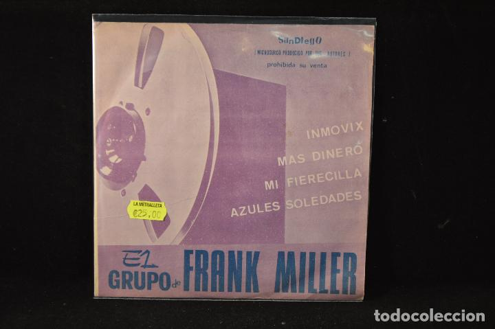 EL GRUPO DE FRANK MILLER – INMOVIX +3 - EP (Música - Discos de Vinilo - EPs - Grupos Españoles de los 70 y 80)