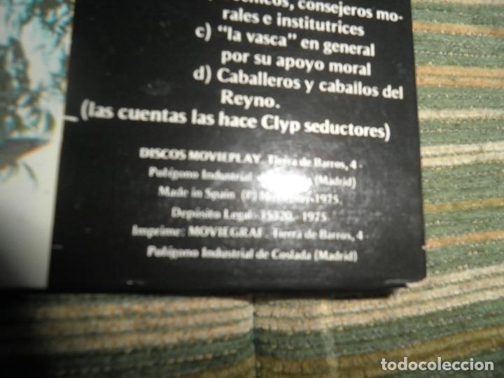 Discos de vinilo: DESMADRE 75 - AQUI ESTA EL GÜISKY, CHELI LP - ORIGINAL ESPAÑOL - MOVIEPLAY 1975 - GATEFOLD COVER - - Foto 4 - 89831824
