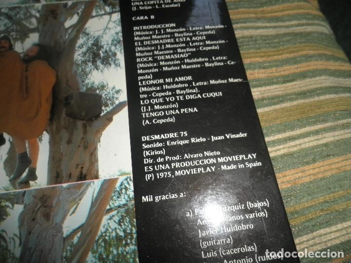 Discos de vinilo: DESMADRE 75 - AQUI ESTA EL GÜISKY, CHELI LP - ORIGINAL ESPAÑOL - MOVIEPLAY 1975 - GATEFOLD COVER - - Foto 5 - 89831824