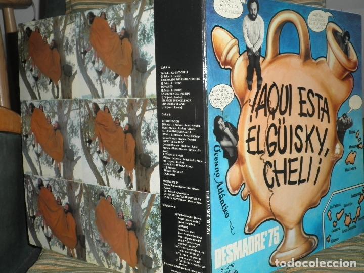 Discos de vinilo: DESMADRE 75 - AQUI ESTA EL GÜISKY, CHELI LP - ORIGINAL ESPAÑOL - MOVIEPLAY 1975 - GATEFOLD COVER - - Foto 6 - 89831824