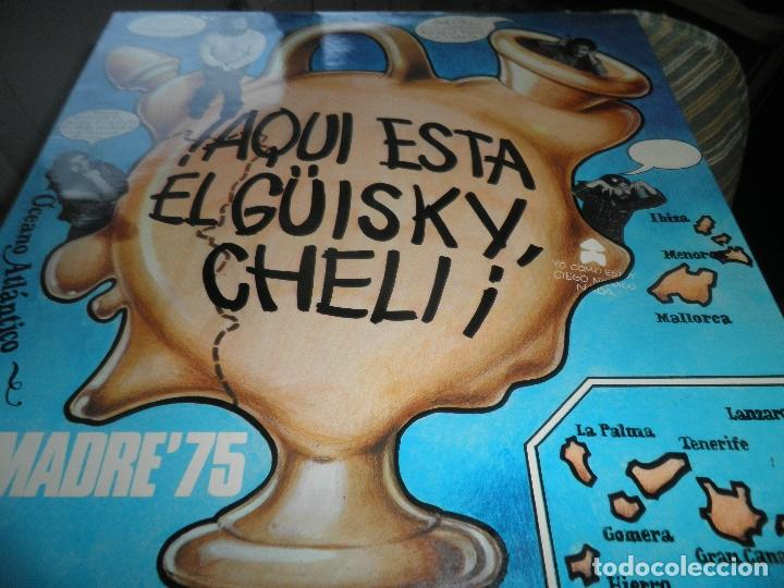 Discos de vinilo: DESMADRE 75 - AQUI ESTA EL GÜISKY, CHELI LP - ORIGINAL ESPAÑOL - MOVIEPLAY 1975 - GATEFOLD COVER - - Foto 13 - 89831824