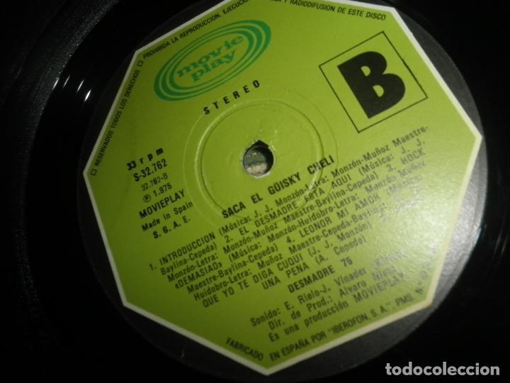 Discos de vinilo: DESMADRE 75 - AQUI ESTA EL GÜISKY, CHELI LP - ORIGINAL ESPAÑOL - MOVIEPLAY 1975 - GATEFOLD COVER - - Foto 21 - 89831824