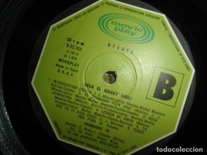 Discos de vinilo: DESMADRE 75 - AQUI ESTA EL GÜISKY, CHELI LP - ORIGINAL ESPAÑOL - MOVIEPLAY 1975 - GATEFOLD COVER - - Foto 22 - 89831824
