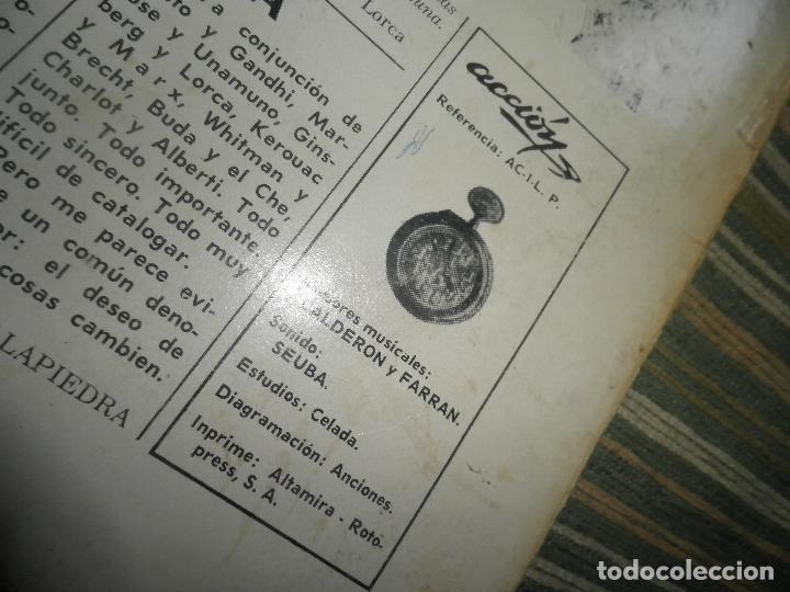 Discos de vinilo: AGUAVIVA - CADA VEZ MAS CERCA LP - ORIGINAL ESPAÑOL - ACCION RECORDS 1970 - GATEFOLD COVER - - Foto 4 - 89832412