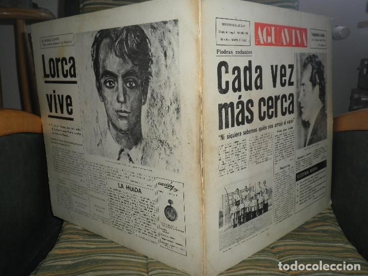 Discos de vinilo: AGUAVIVA - CADA VEZ MAS CERCA LP - ORIGINAL ESPAÑOL - ACCION RECORDS 1970 - GATEFOLD COVER - - Foto 5 - 89832412