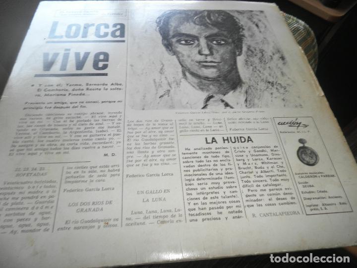 Discos de vinilo: AGUAVIVA - CADA VEZ MAS CERCA LP - ORIGINAL ESPAÑOL - ACCION RECORDS 1970 - GATEFOLD COVER - - Foto 10 - 89832412