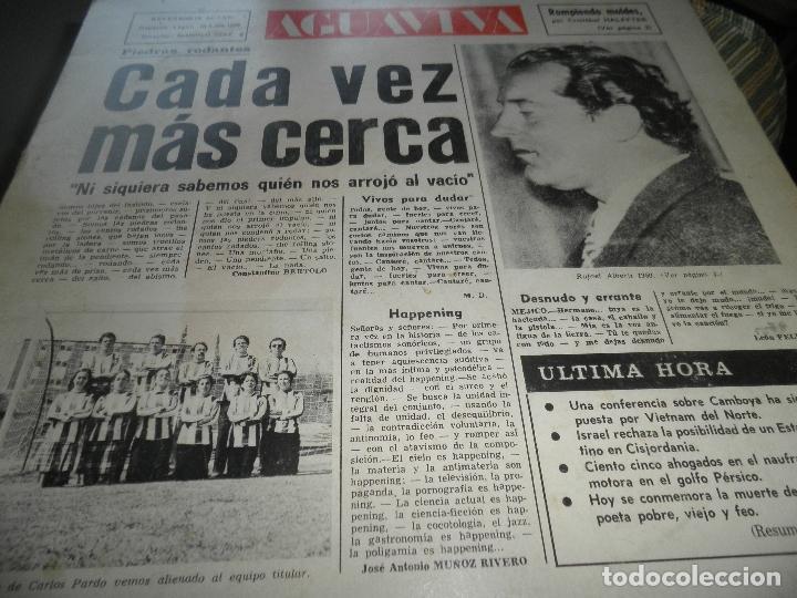 Discos de vinilo: AGUAVIVA - CADA VEZ MAS CERCA LP - ORIGINAL ESPAÑOL - ACCION RECORDS 1970 - GATEFOLD COVER - - Foto 11 - 89832412