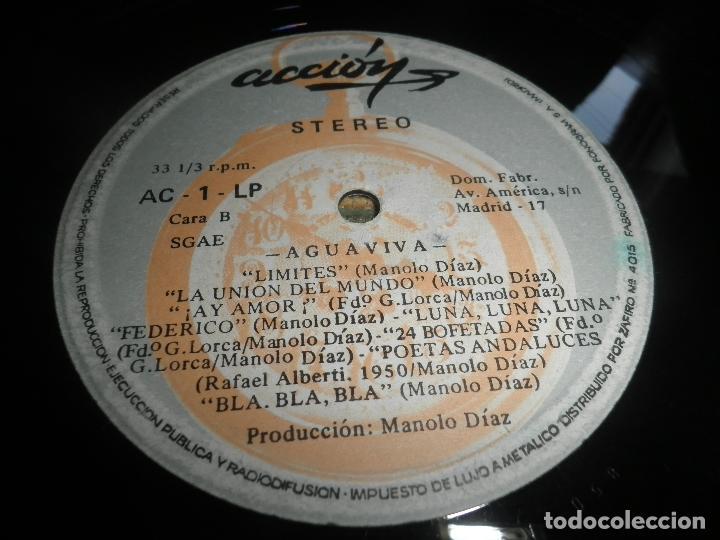 Discos de vinilo: AGUAVIVA - CADA VEZ MAS CERCA LP - ORIGINAL ESPAÑOL - ACCION RECORDS 1970 - GATEFOLD COVER - - Foto 14 - 89832412
