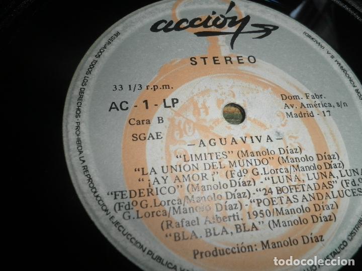 Discos de vinilo: AGUAVIVA - CADA VEZ MAS CERCA LP - ORIGINAL ESPAÑOL - ACCION RECORDS 1970 - GATEFOLD COVER - - Foto 15 - 89832412