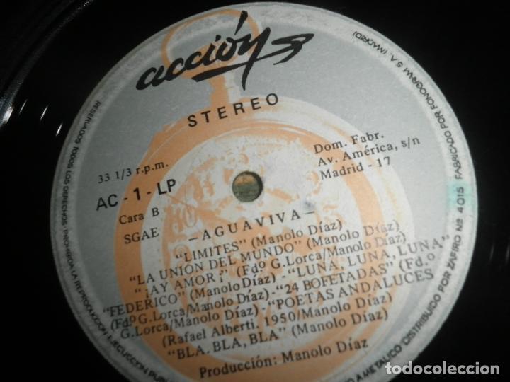 Discos de vinilo: AGUAVIVA - CADA VEZ MAS CERCA LP - ORIGINAL ESPAÑOL - ACCION RECORDS 1970 - GATEFOLD COVER - - Foto 16 - 89832412