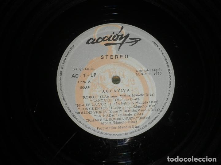 Discos de vinilo: AGUAVIVA - CADA VEZ MAS CERCA LP - ORIGINAL ESPAÑOL - ACCION RECORDS 1970 - GATEFOLD COVER - - Foto 18 - 89832412