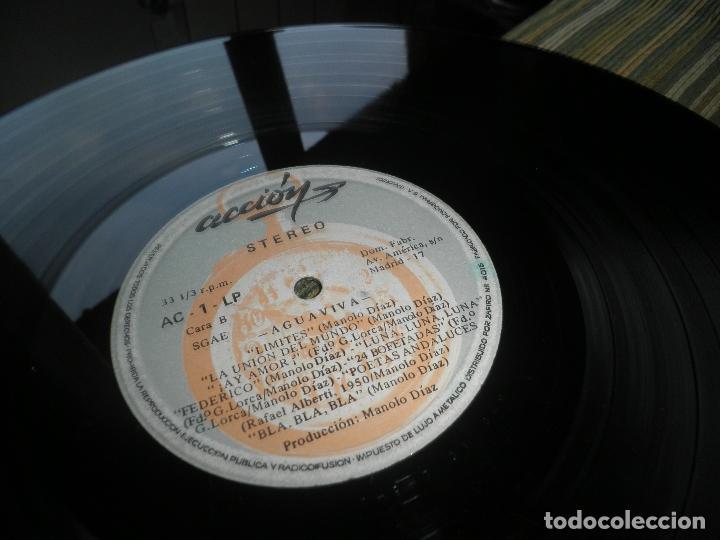 Discos de vinilo: AGUAVIVA - CADA VEZ MAS CERCA LP - ORIGINAL ESPAÑOL - ACCION RECORDS 1970 - GATEFOLD COVER - - Foto 22 - 89832412