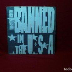 Discos de vinilo: THE LUKE LP FEATURING THE 2 LIVE CREW BANNED IN THE U.S.A. / B.U.S. PROMOCIONAL, UNA CARA, 1991.. Lote 89838100