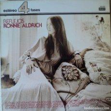 Discos de vinilo: RONNIE ALDRICH - REFLEJOS - EDICIÓN DE 1978 DE ESPAÑA. Lote 89844288