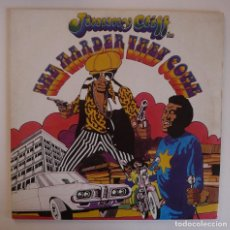 Discos de vinilo: LP - JIMMY CLIFF - THE HARDER THEY COME - BSO - ISLAND RECORDS SPAIN 1972 - I 86381- VG++/VG++. Lote 89852088