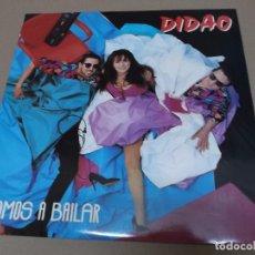 Discos de vinilo: DIDAO (MX) VAMOS A BAILAR +2 TRACKS AÑO 1991. Lote 89852504