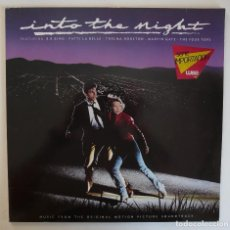 Discos de vinilo: LP - INTO THE NIGHT - BSO (B.B. KING, PATTI LA BELLE, MARVIN GAYE, THELMA HOUSTON) - 1985 GERMANY. Lote 89854884