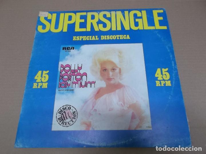 DOLLY PARTON (MX) BABY I'M BURNIN' +1 TRACK AÑO 1979 (Música - Discos de Vinilo - Maxi Singles - Country y Folk)