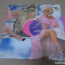 Discos de vinilo: DOLLY PARTON (MX) BABY I'M BURNIN' +1 TRACK AÑO 1978 – EDICION U.S.A. – VINILO COLOR ROSA - PROMOCIO. Lote 89862652