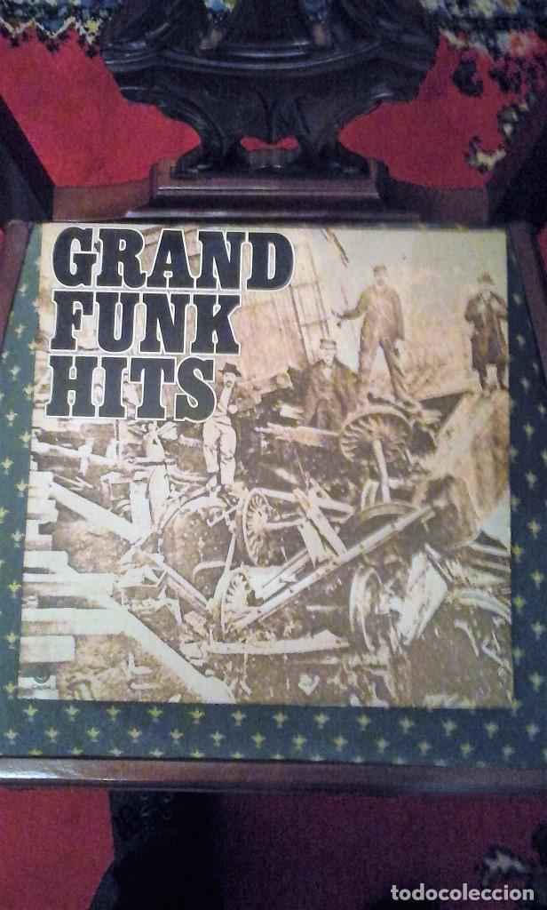 GRAND FUNK RAILROAD. GRAND FUNK HITS.EDICIÓN AMERICANA.1976. ST-11579 (Música - Discos - LP Vinilo - Pop - Rock - Extranjero de los 70)