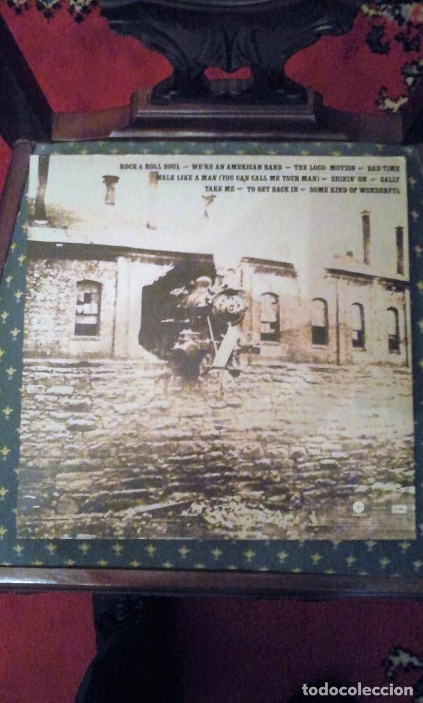 Discos de vinilo: Grand Funk Railroad. Grand Funk Hits.Edición americana.1976. ST-11579 - Foto 2 - 89868068