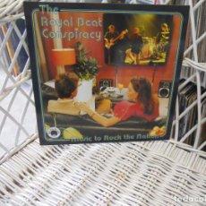 Discos de vinilo: THE ROYAL BEAT CONSPIRACY–MUSIC TO ROCK THE NATI.10 PULGADAS.GARAGE ROCK ESVANDINAVO.SELLO BAD AFRO. Lote 89868644