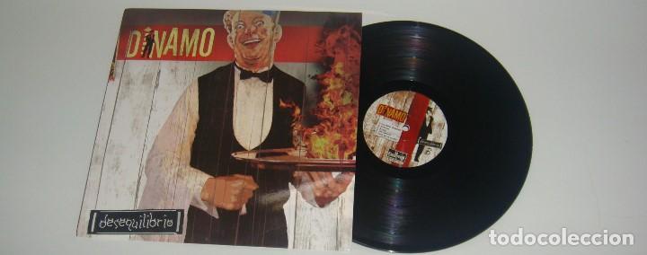 LP - DINAMO - DESEQUILIBRIO - MADE IN MEXICO - DINAMO - 180GR. (Música - Discos - LP Vinilo - Reggae - Ska)